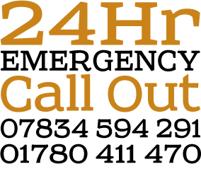 24 Hr Emergency Call Out 07834 594291